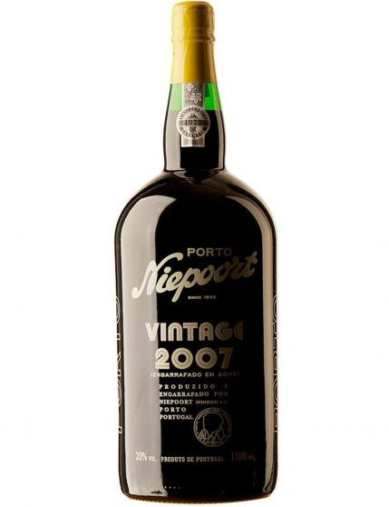 Une bouteille de Niepoort Vintage 2007 1.5l Porto