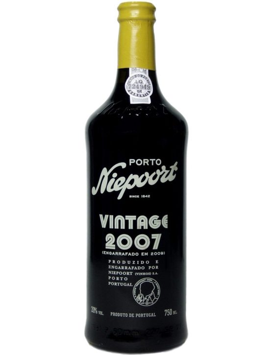 A Bottle of Niepoort Vintage 2007 Port Wine