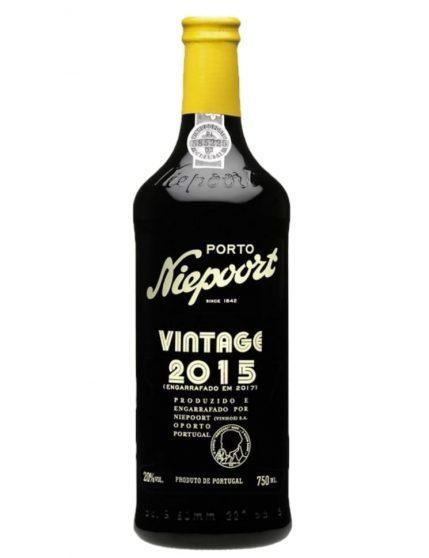 A Bottle of Niepoort Vintage 2015 Port