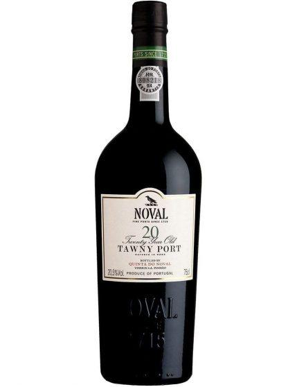 Une bouteille de Quinta do Noval Tawny 20 Ans