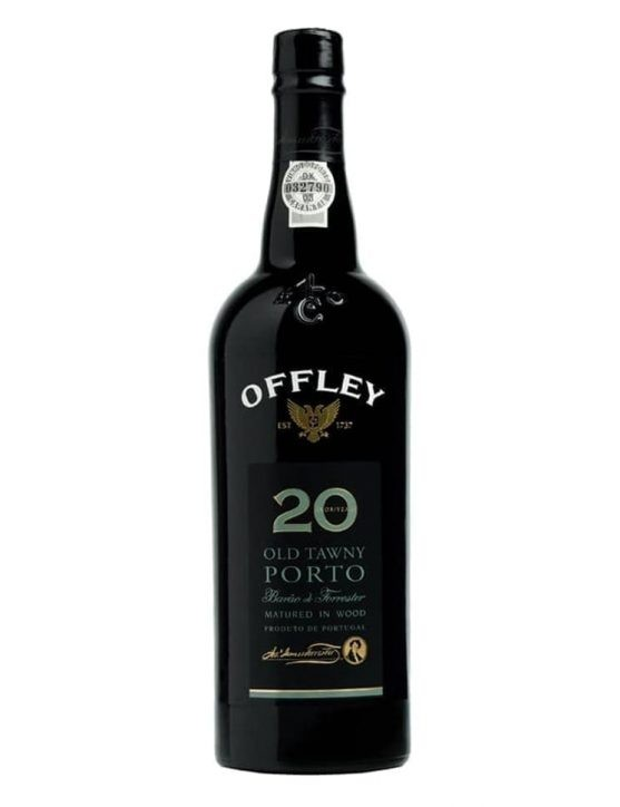 A Bottle of Offley Barão de Forrester 20 Years Tawny Port Wine