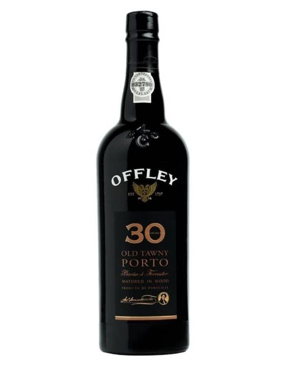 A Bottle of Offley Barão de Forrester 30 Years Tawny Port Wine