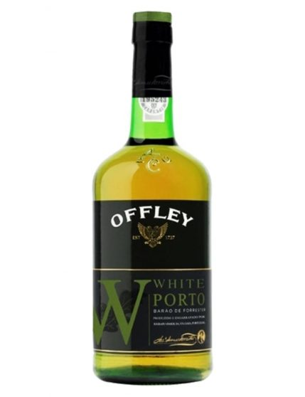 A Bottle of Offley White Port Wine