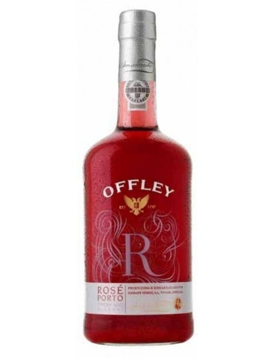 A Bottle of Offley Rosé Port Wine