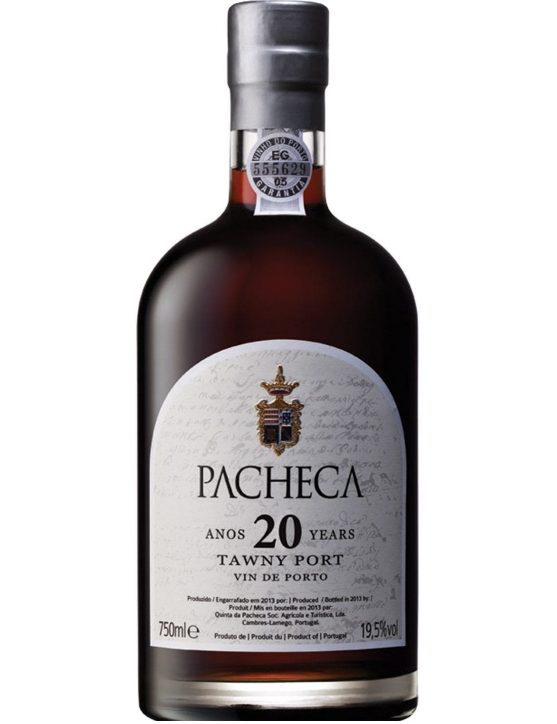 A Bottle of Quinta da Pacheca Tawny 20 Years