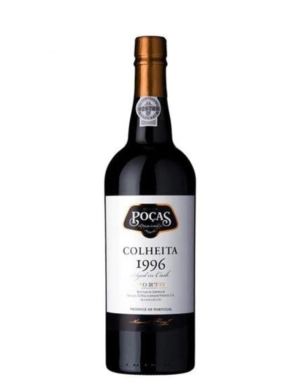 A Bottle of Poças Harvest 1996 Port Wine