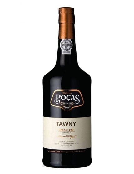 A Bottle of Poças Tawny Port Wine