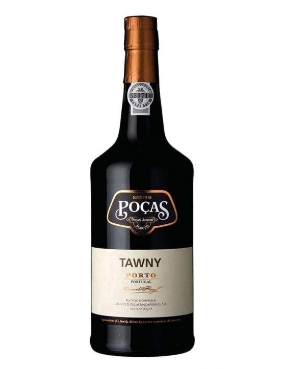 Uma Garrafa de Poças Tawny Porto