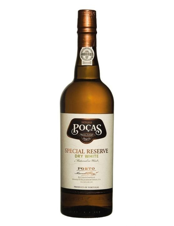 A Bottle of Poças Reserva Dry White