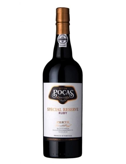 A Bottle of Poças Ruby Special Reserve