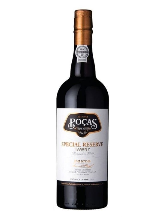 A Bottle of Poças Tawny Special Reserve Port Wine