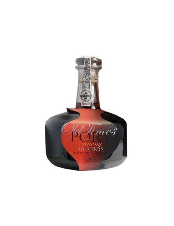 Eine Flasche Poças Tawny 10 Jahre Dekanter Old Time's