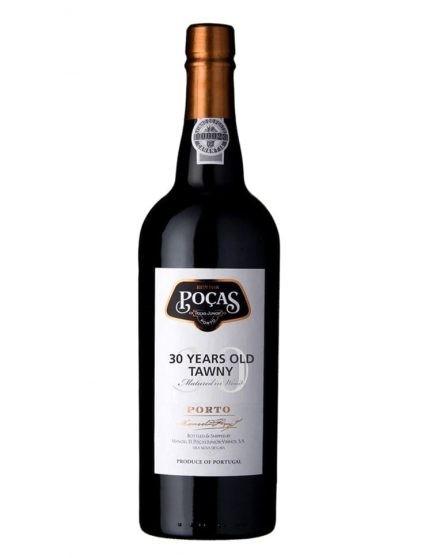 Une bouteille de Poças Tawny 30 Ans Porto
