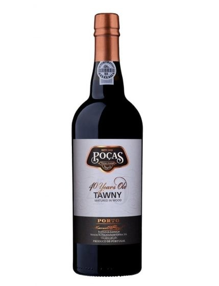A Bottle of Poças 40 Years Tawny Port Wine