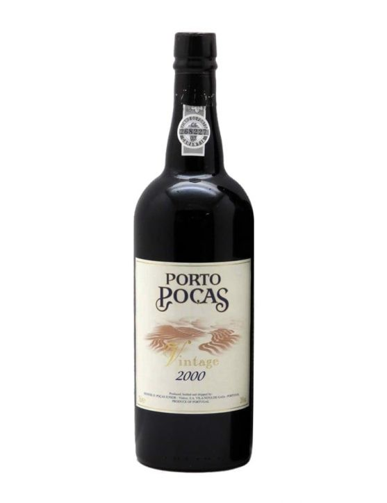 A Bottle of Poças Vintage 2000 Port