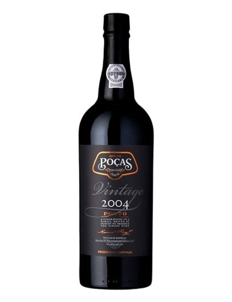 A Bottle of Poças Vintage 2004 Port
