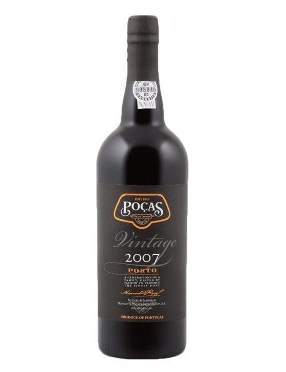 A Bottle of Poças Vintage 2007 Port