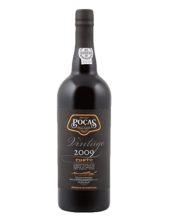 A Bottle of Poças Vintage 2009 Port