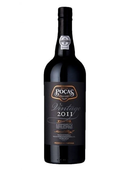 A Bottle of Poças Vintage 2011 Port