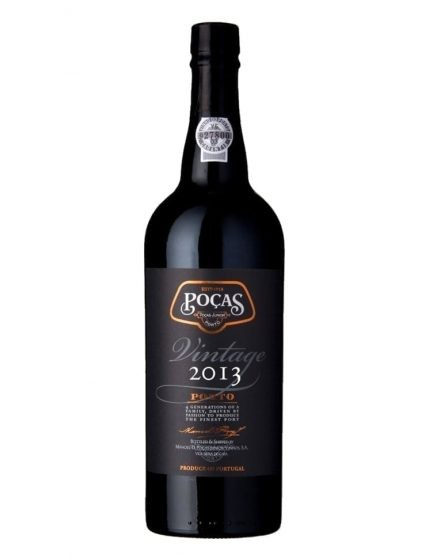 A Bottle of Poças Vintage 2013 Port