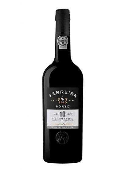 A Bottle of Ferreira Quinta do Porto 10 Years Tawny Port Wine
