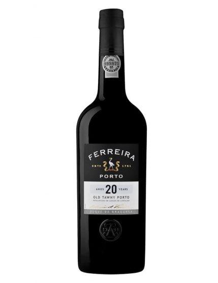 A Bottle of Ferreira Duque de Bragança 20 Years Tawny Port Wine