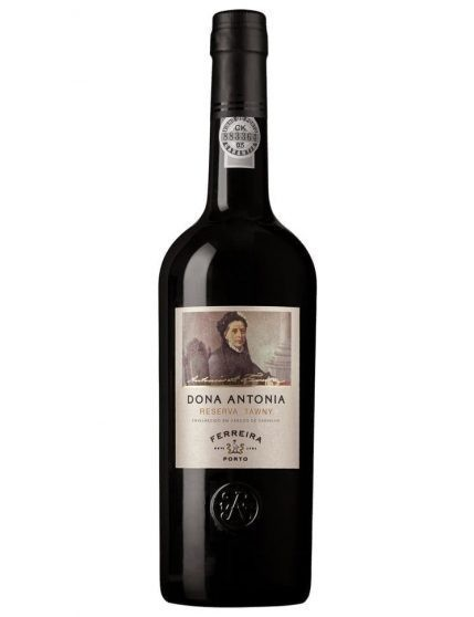 A Bottle of Ferreira Dona Antónia Reserve Tawny Port Wine