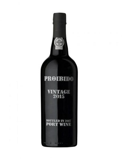 A Bottle of Proibido Vintage 2015 Port
