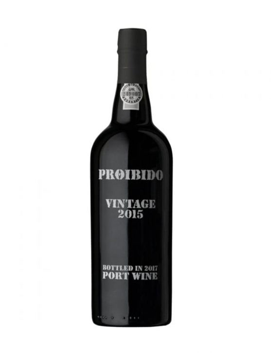 A Bottle of Proibido Vintage 2015 Port