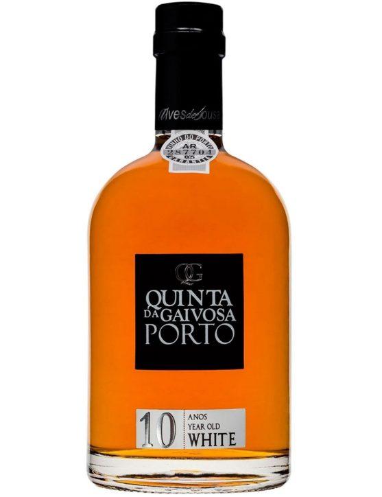 Eine Flasche Quinta da Gaivosa  Weißer 10 Jahre