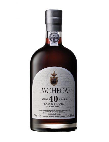 Une bouteille de Quinta da Pacheca Tawny 40 Ans