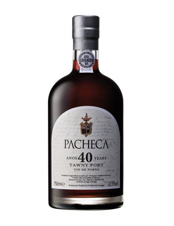 A Bottle of Quinta da Pacheca 40 Year Old Tawny