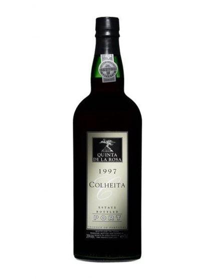 A Bottle of Quinta de la Rosa Harvest 1997 Port Wine