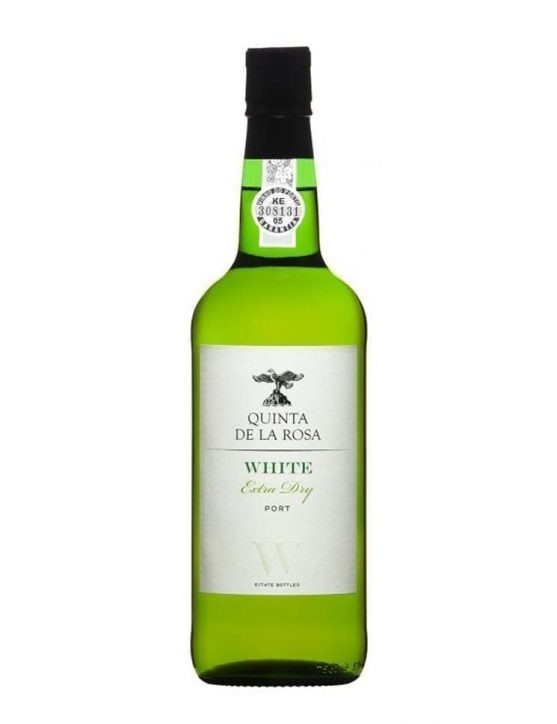 A Bottle of Quinta de la Rosa Extra Dry White