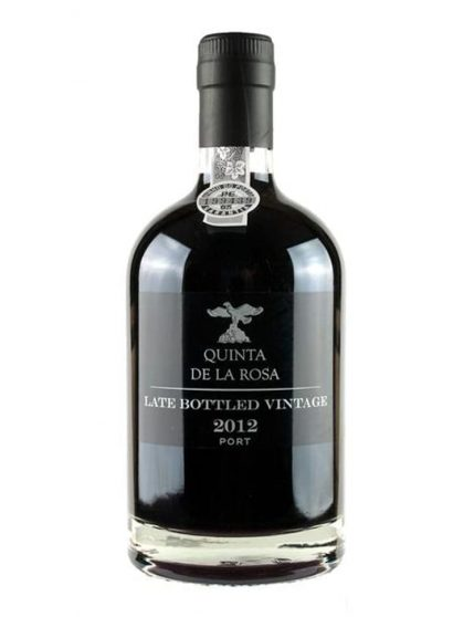 A Bottle of Quinta de la Rosa LBV 2012 Port Wine 50cl
