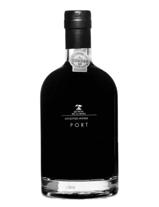 A Bottle of Quinta de la Rosa LBV 2013 Port Wine 50cl