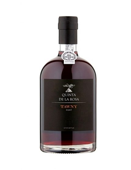 A Bottle of Quinta de la Rosa Tawny Port Wine 50cl