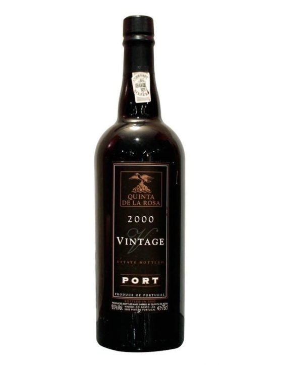 A Bottle of Quinta de la Rosa Vintage 2000 Port
