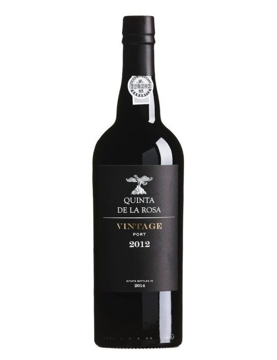 A Bottle of Quinta de la Rosa Vintage 2012 Port