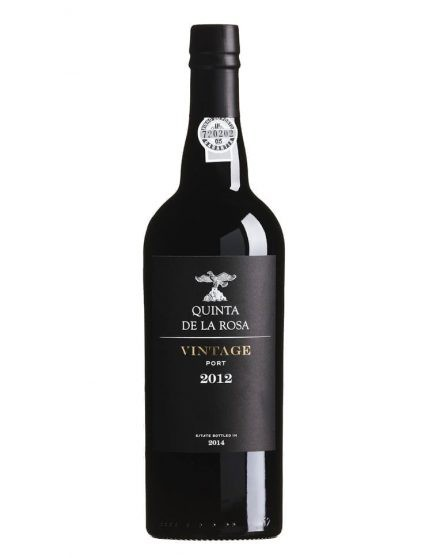 A Bottle of Quinta de la Rosa Vintage 2012 Magnum Port