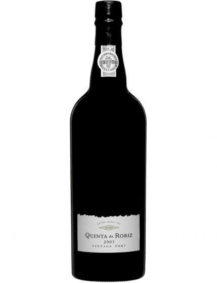 A Bottle of Quinta de Roriz Vintage 2003 Port Wine