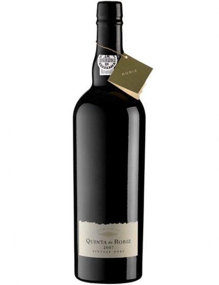 A Bottle of Quinta de Roriz Vintage 2007 Port Wine