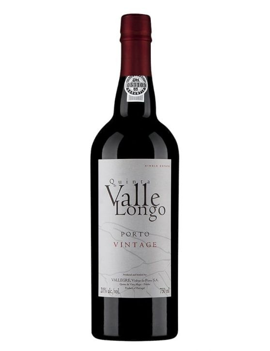 A Bottle of Vallegre Valle Longo Vintage 2005