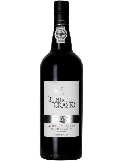 A Bottle of Quinta do Crasto LBV 2011 Port Wine