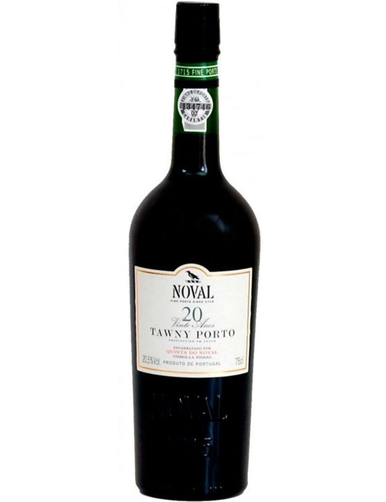 A Bottle of Quinta do Noval 20 Years 37.5cl Port