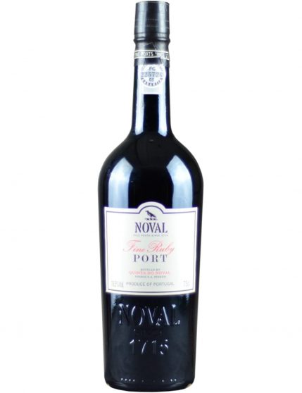 A Bottle of Quinta do Noval Fine Ruby Port Wine