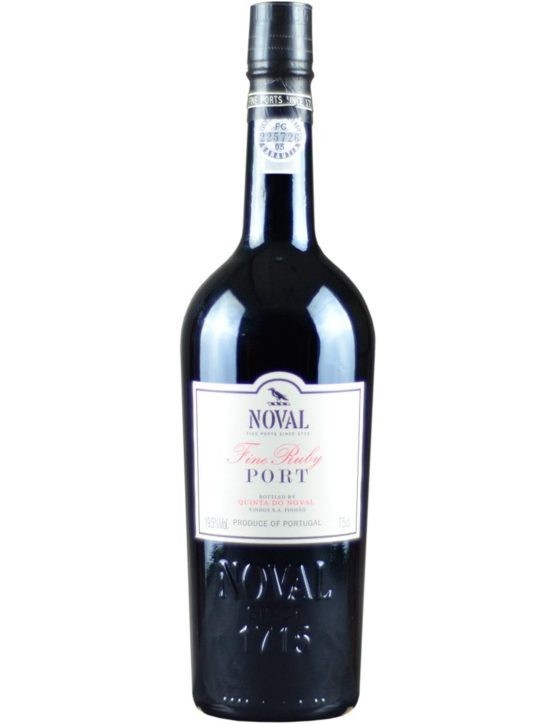 A Bottle of Quinta do Noval Fine Ruby Port Wine