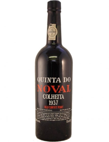 A Bottle of Quinta do Noval Harvest 1937