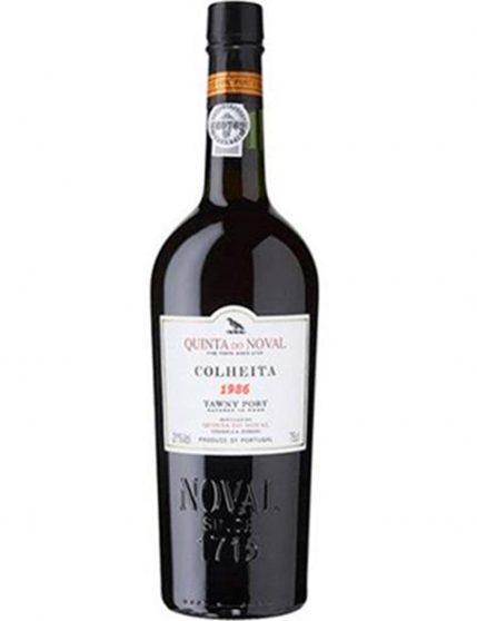 A Bottle of Quinta do Noval Harvest 1986 Port