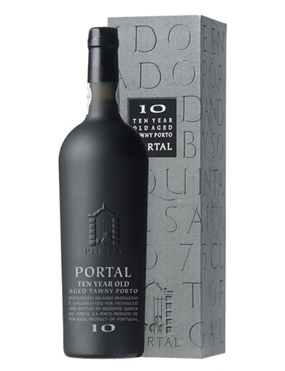 A Bottle of Portal Tawny 10 Years Old Tawny Port